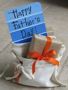 Tool Time Tuesday...Father's Day Gift Wrap