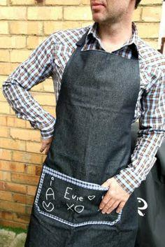 An apron for the father on Father's Day