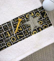 Decorative Golf Towel