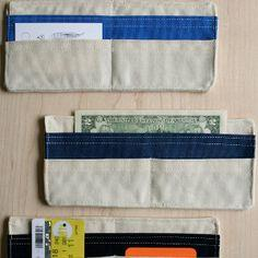 Summertime Fabric Wallet