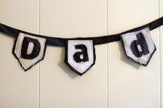 Make Dad a Tie Bunting
