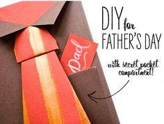 DIY FOR FATHER'S DAY (BOWTIE + NECKTIE GIFT WRAP)