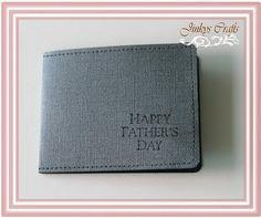 Father's Day Wallet ( Mens Wallet)