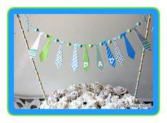 Fathers Day Tie Bunting Printable and Tutorial