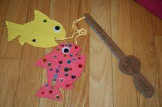 Father's Day Fishing Rod Craft