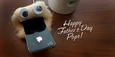 DIY Father's Day Gift: Monsterize his Phone Charger