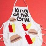 Barbecue-Themed Apron