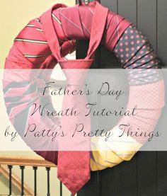 Father's Day Wreath Tutorial