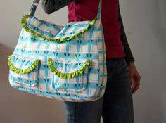 TUTORIAL: THE FROU FROU BAG