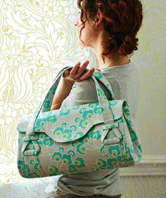 Free Amy Butler Pattern ~ Blossom Handbag/Shoulder Bag