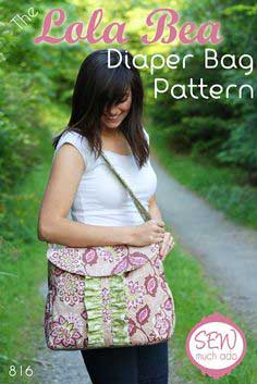 LOLA BEA DIAPER BAG PATTERN