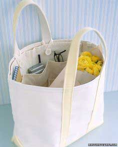 Removable Tote Organizers