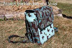 Classic For Moms Diaper Bag Tutorial