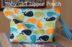 Baby Gift Zipper Pouch - Tutorial