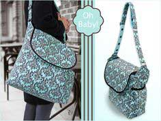 Oh Baby! with Fabric.com: Beautiful Diaper Bag