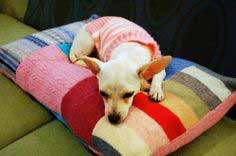 how to make a patchwork pet bed