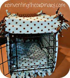DIY Doggy Crate Cover
