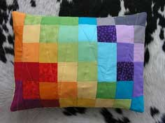 SEWING 101: COLOR SPECTRUM PET BED