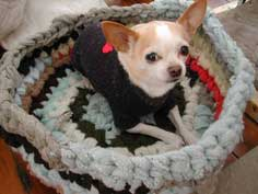 How to Make a Pet Bed from Recycled Sweaters