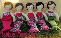 The Modest Mermaid Doll! (pattern/tutorial)
