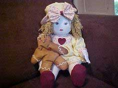 Sewing Crafts Rag Doll