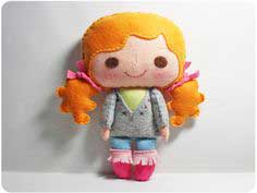 image relating to Free Printable Felt Doll Patterns called Doll Routines - Previously mentioned 80 Doll Tutorials and Practices in direction of Sew
