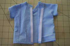Scrub top for American Girl Doll