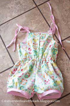 Doll clothes and another playsuit!