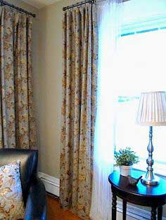 How To Make Lined Drapes...Picture Tutorial