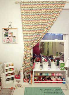Pinterest Inspired – Fabric Fuse No Sew Curtains