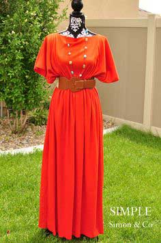 A 3-Seam Caftan Tutorial