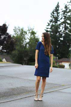 VINTAGE INSPIRED BOXY DRESS TUTORIAL
