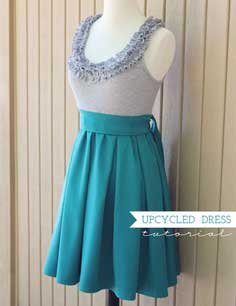 ruffles dress tutorial