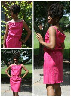 Easy Summer Sack Dress