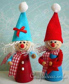 Christmas Craft - Cute Christmas Elves