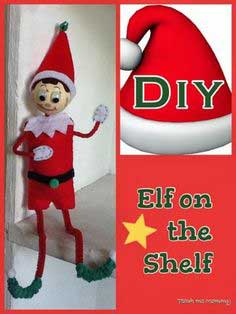 DIY Elf on the Shelf