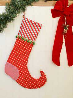 HOW TO SEW AN ELF CHRISTMAS STOCKING