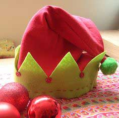 Easy peasy elf hat!
