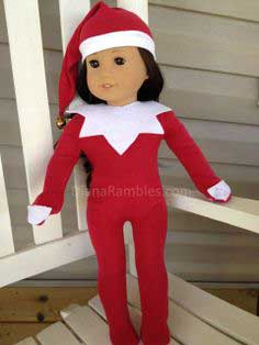 American Girl Elf on the Shelf