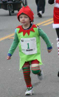 Simple to Make Elf Costume- Great for Jingle Bell Runs