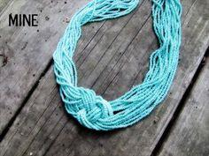Turquoise Knot Necklace