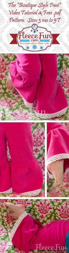 100 Fleece Patterns to Sew - Warm and Cozy Free Fleece Patterns