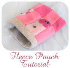 Fleece Pouch Tutorial For Hedgehog, Hamster, Guinea Pig, Ferret, Sugar Glider, and Other Small Animals