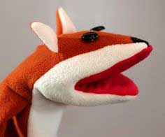 How to Make a Fox Puppet