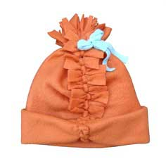 04522462225 No-Sew Simple Pom-Pom Hat