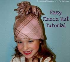 4a44d521745 Easy Fleece Hat Tutorial