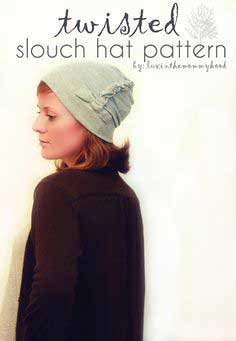 twisted slouch hat pattern