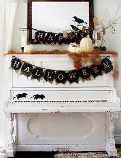 How To Make a Halloween Banner-Free Download