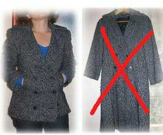 Turn A Wool Coat Into A Cool Jacket