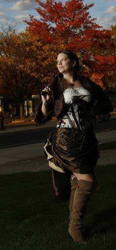 How to Make a Steampunk Bolero Jacket